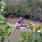 Massage at Hix Island House