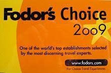 Hix House Fodor's Award