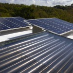 Solar Panels on the Hix Island House Hotel