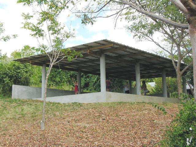 Yoga Pavilion at Hix Island House