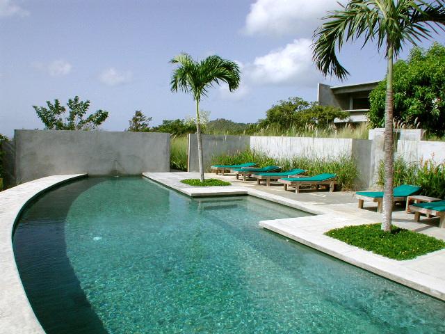 Pool at Hix Island House, Vieques Hotel