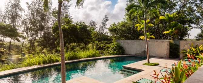 Hix Island House Pool