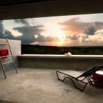 Casa Solaris Loft 2 sunset view over Vieques